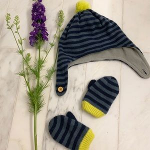 Boden Accessories - Baby Boden adorable hat and mittens set — 12-24m